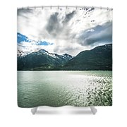 Nature And Mountains Around Skagway Alaska Shower Curtain