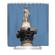 Nelsons Column Shower Curtain