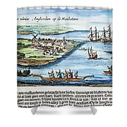 New Amsterdam Shower Curtain