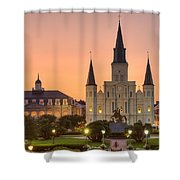 New Orleans St Louis Cathedral Shower Curtain