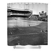 New York: Polo Grounds Shower Curtain