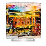 Newcastle Quayside Shower Curtain