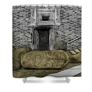Newgrange Ireland Shower Curtain