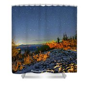 Northern Lights At Mount Pilchuck Shower Curtain