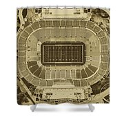Notre Dame Stadium Shower Curtain
