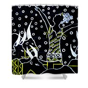 Nuer Lady -  South Sudan Shower Curtain
