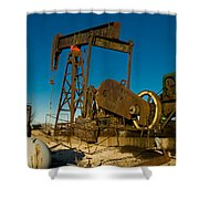 Oil Rig  Shower Curtain