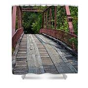 Old Alton Bridge  Shower Curtain