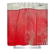 Old Car Hood Shower Curtain
