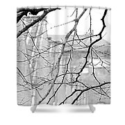 Old Factory Shower Curtain