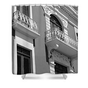 Old San Juan Puerto Rico Downtown  Shower Curtain
