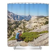 Olmsted Point Shooting Shower Curtain