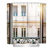 Open Window In Toulouse Shower Curtain