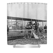 Orville Wright (1871-1948) Shower Curtain