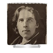 Oscar Wilde 1 Shower Curtain