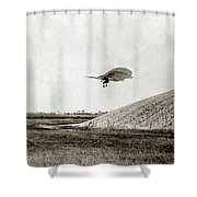 Otto Lilienthal (1848-1896) Shower Curtain