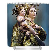 Our Lady Of Graces Shower Curtain