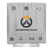 Overwatch Shower Curtain
