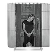 Closing The Doorway To The Past Shower Curtain