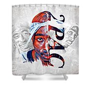 2 Pac Shower Curtain