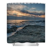 Pacific Grove Sunset Shower Curtain