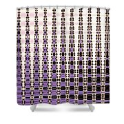 Palm Trees Abstract Design Shower Curtain