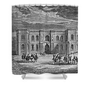 Paris Observatory, 17th Century Shower Curtain