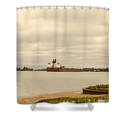 Paul R. Tregurtha Shower Curtain