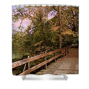 Peaceful Repose Shower Curtain