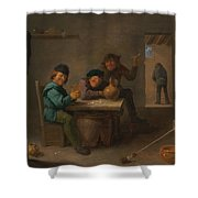 Peasants In A Tavern Shower Curtain