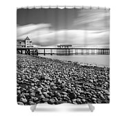 Penarth Pier 5 Shower Curtain
