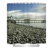 Penarth Pier 6 Shower Curtain