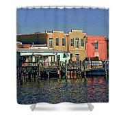 Pensacola Bay Shower Curtain