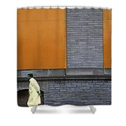 Peril Shower Curtain