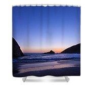 Pfeiffer Beach Shower Curtain