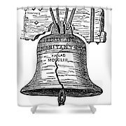 Philadelphia: Liberty Bell Shower Curtain