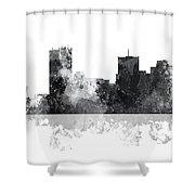 Phoenix Arizona Skyline Shower Curtain