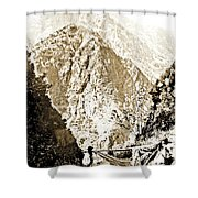 Pico Ruivo Mountain, Madeira, Portugal, C.1900 Shower Curtain