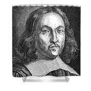 Pierre De Fermat, French Mathematician Shower Curtain