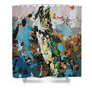 Pike In Action Shower Curtain