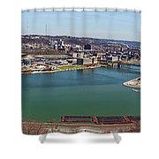 Pittsburgh Panorama Shower Curtain