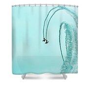 2 Plus 2 Shower Curtain