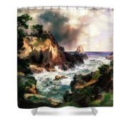 Point Lobos, Monterey, California Shower Curtain