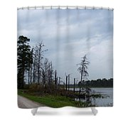 Pond's Edge Shower Curtain