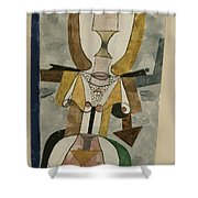 Popular Wall-painting Shower Curtain