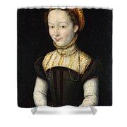 Portrait Of A Woman Shower Curtain