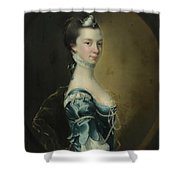 Portrait Of A Young Lady Shower Curtain