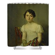 Portrait Of Andrienne Shower Curtain