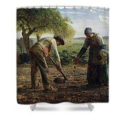 Potato Planters Shower Curtain