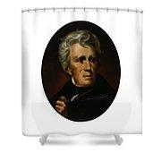President Andrew Jackson - Four Shower Curtain